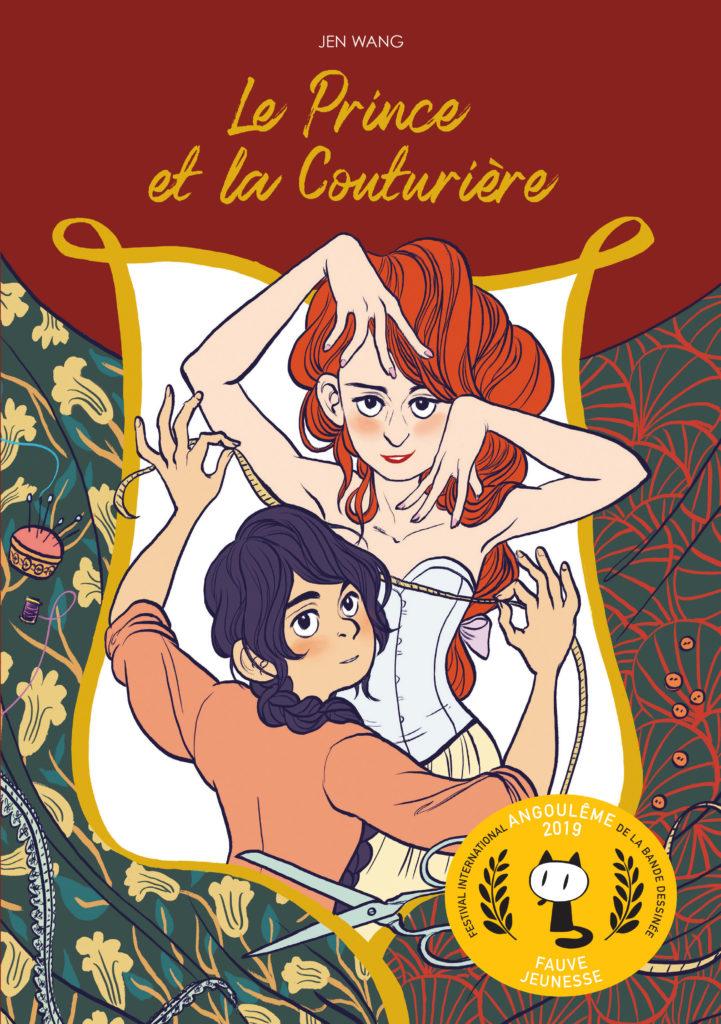 Le Prince et la Couturière - couverture