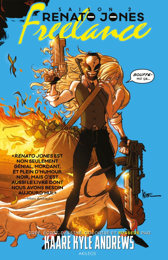 Renato Jones – Saison 2 : Freelance - couverture