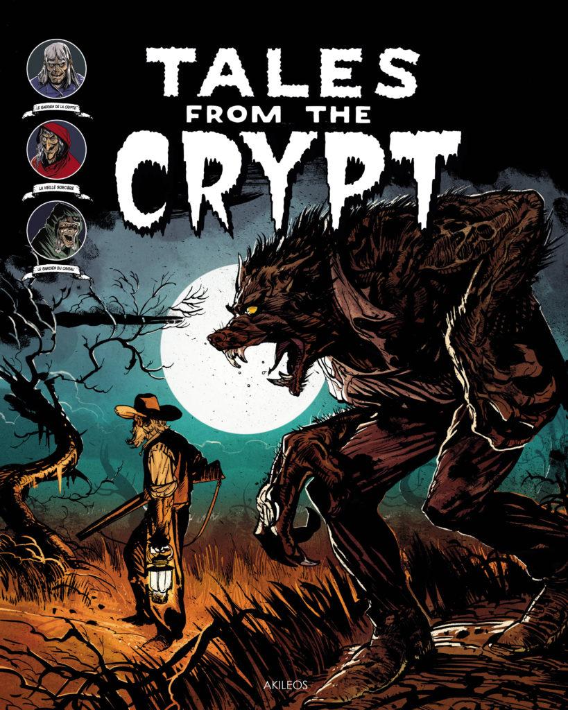Tales from the Crypt, T.5 (+ livret des couvertures originales) - couverture
