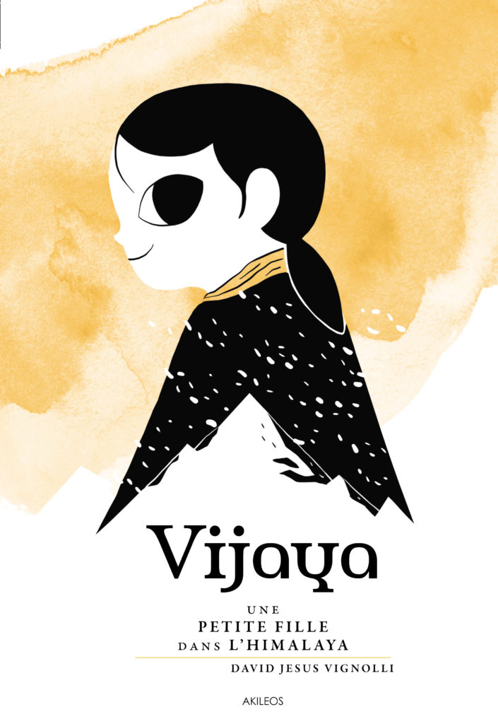 Vijaya – Une petite fille dans l'Himalaya - couverture