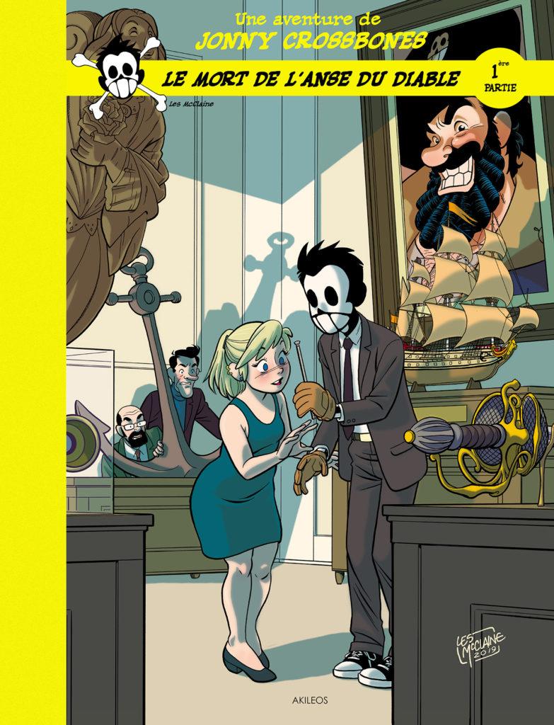 Jonny Crossbones – Le Mort de l'anse du Diable, T.1 : Les Pistolets du Pirate - couverture