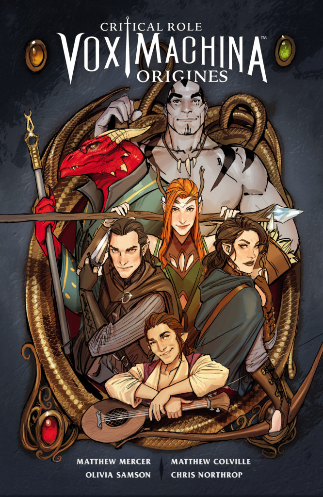 Critical Role Vox Machina – Origines, T,1 - couverture