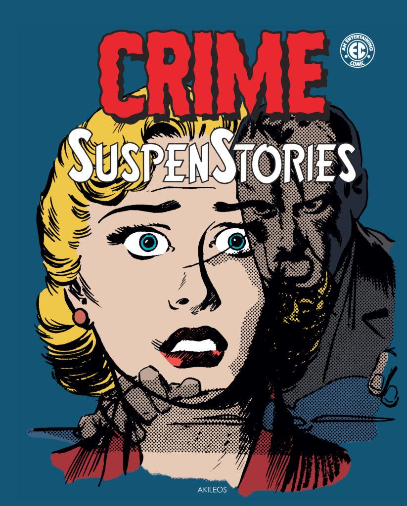 Crime SuspenStories, T.4 + livret de couvertures - couverture