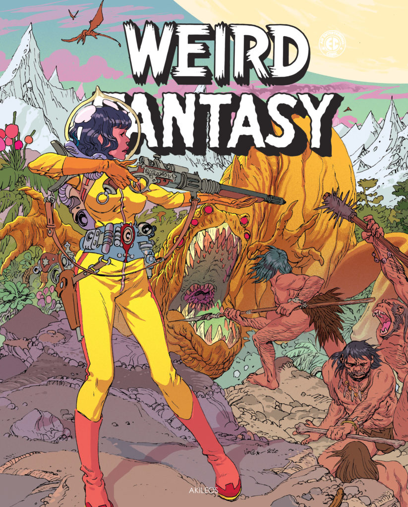 Weird Fantasy, T.3 (+ livret des couvertures originales) - couverture