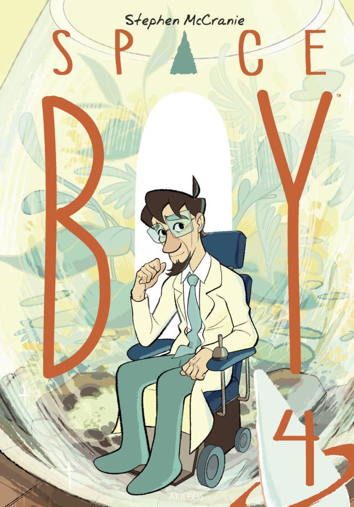 Space Boy 4 - couverture